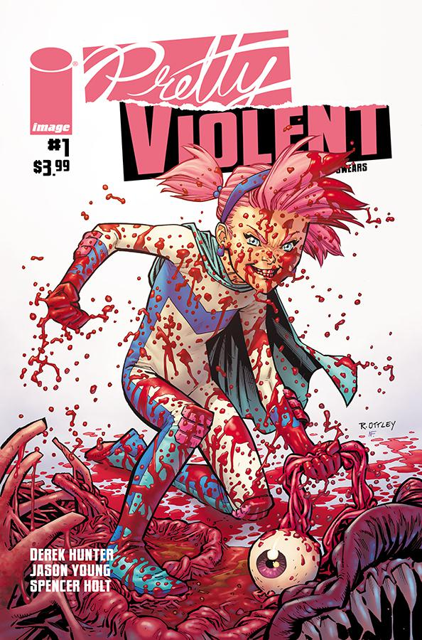 Pretty Violent #1 Cover B Variant Ryan Ottley Cover