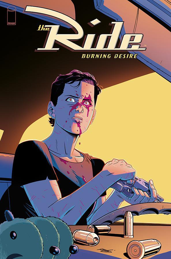 Ride Burning Desire #3 Cover B Variant Daniel Hillyard Cover