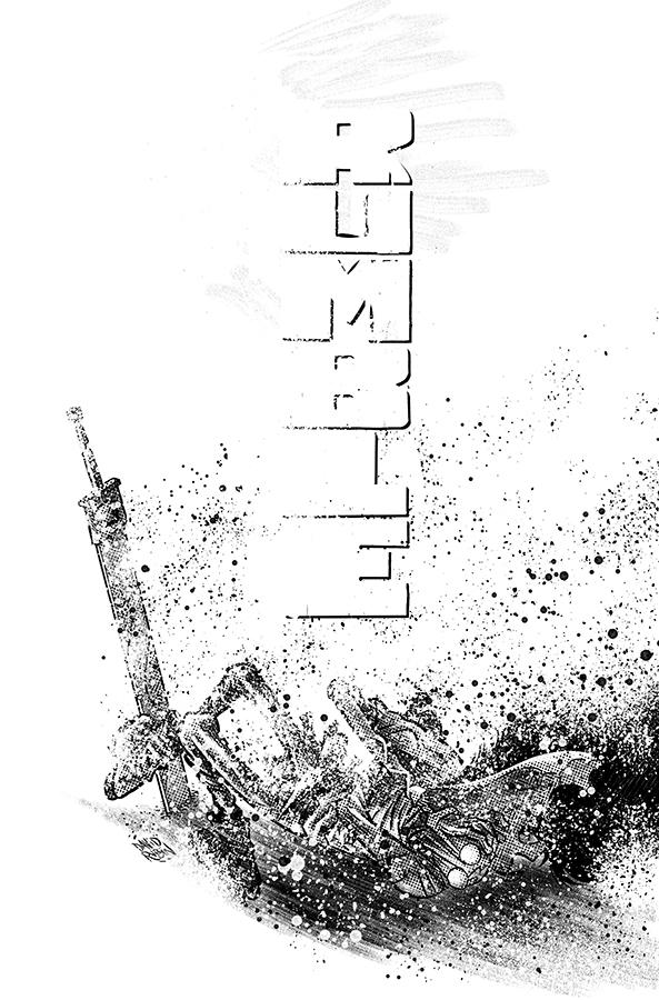 Rumble Vol 2 #15 Cover A Regular David Rubin Black & White Cover