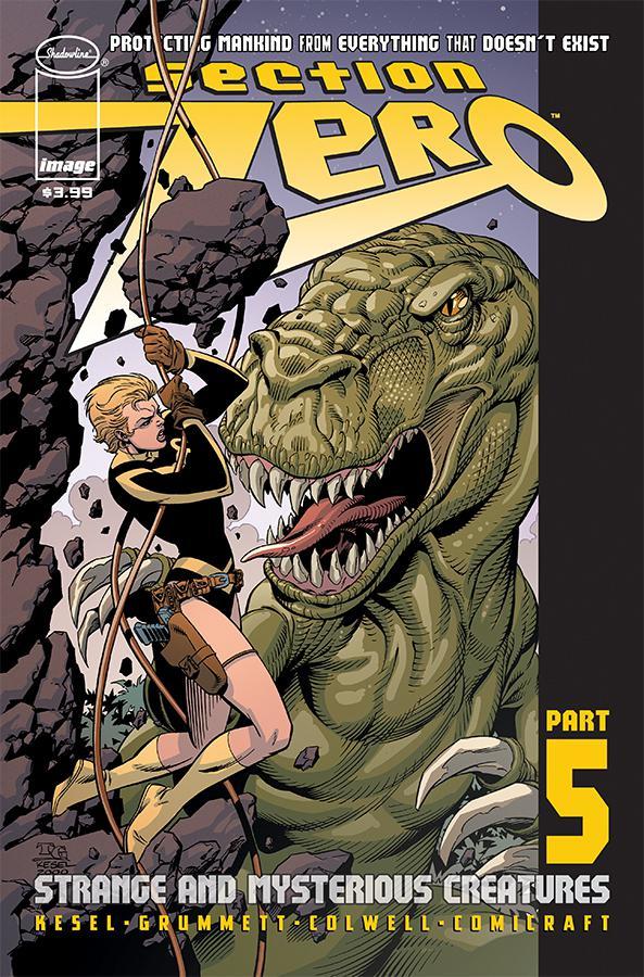 Section Zero Vol 2 #5 Cover A Regular Tom Grummett & Karl Kesel Cover