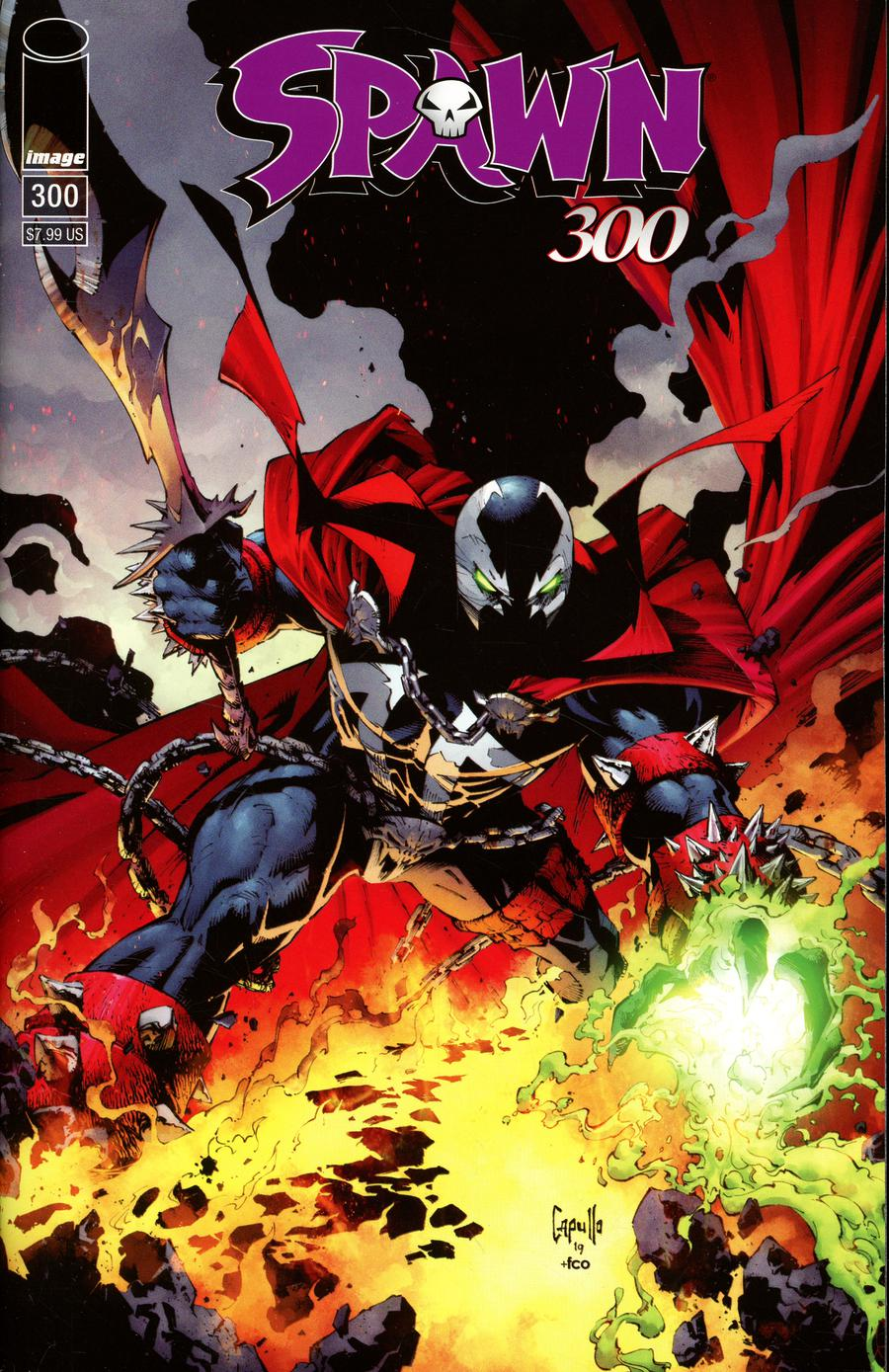 Spawn #300 Cover C Variant Greg Capullo Cover