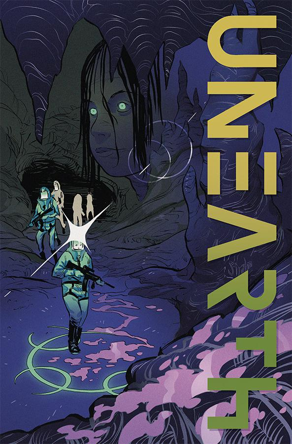 Unearth #2 Cover B Variant Kyle Strahm & Baldemar Rivas Cover