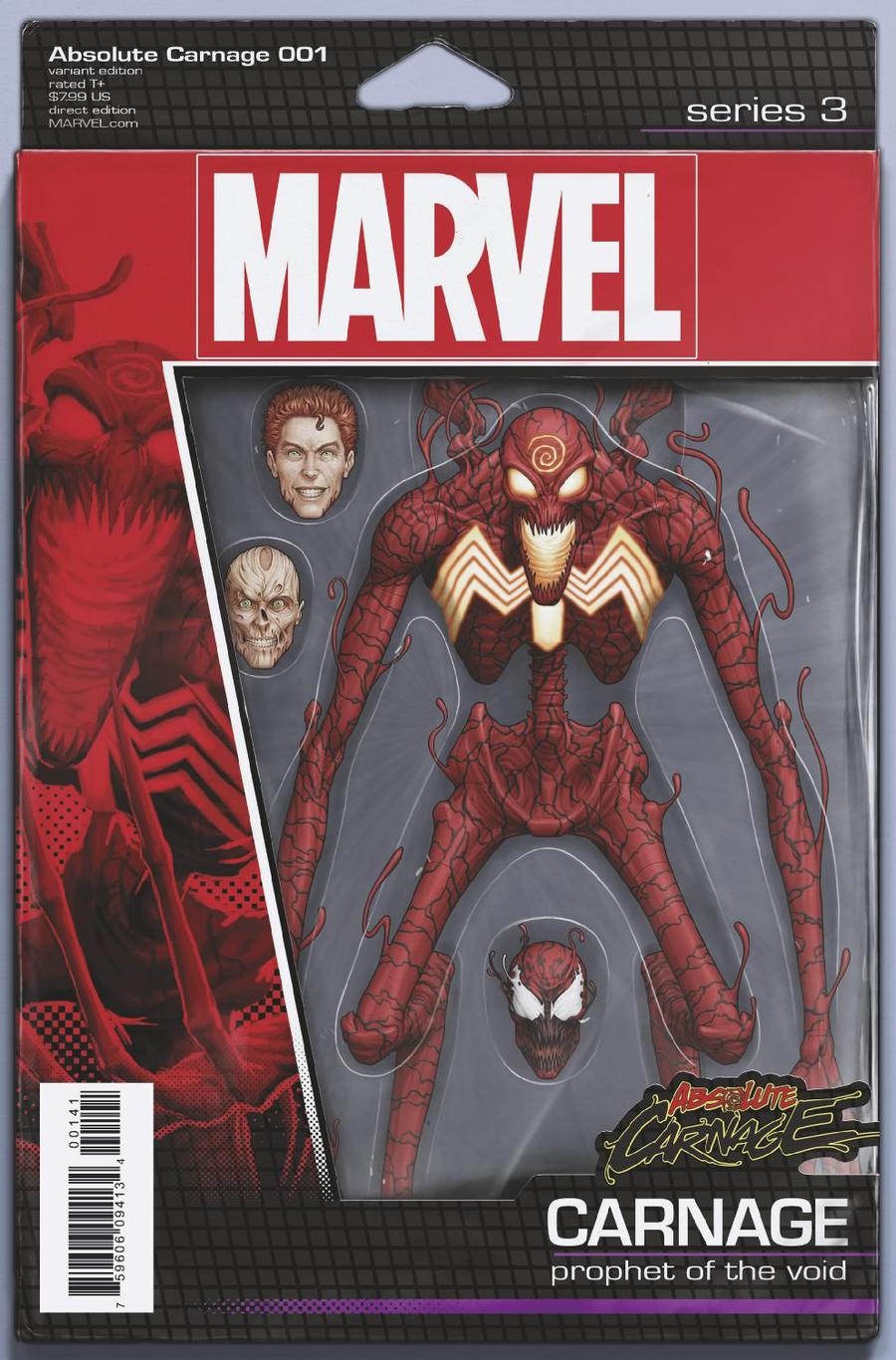 Absolute Carnage #1 Cover C Variant John Tyler Christopher Action Figure Cover
