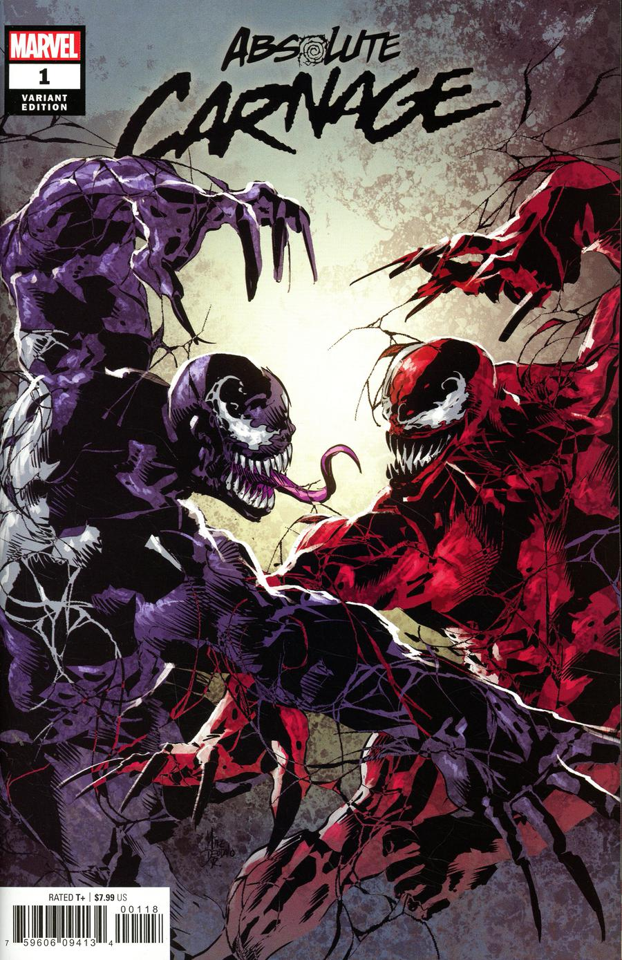 Absolute Carnage #1 Cover G Variant Mike Deodato Jr Party Cover
