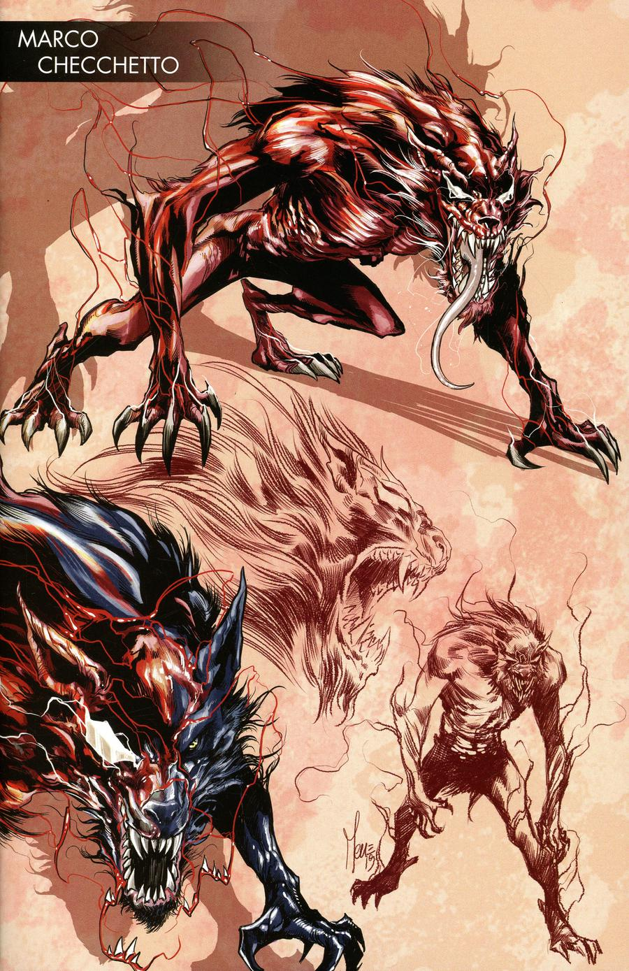 Absolute Carnage #2 Cover E Variant Marco Checchetto Young Guns Cover