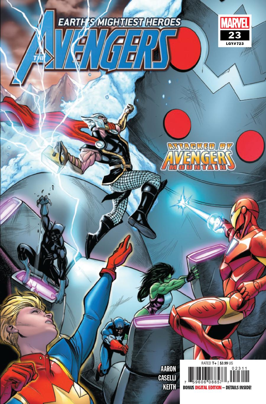 Avengers Vol 7 #23 Cover A Regular Stefano Caselli Cover