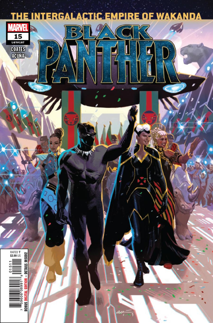 Black Panther Vol 7 #15 Cover A Regular Daniel Acuna Cover