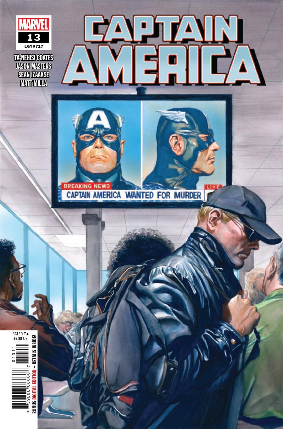 Captain America Vol 9 #13 Cover A Regular Alex Ross Cover