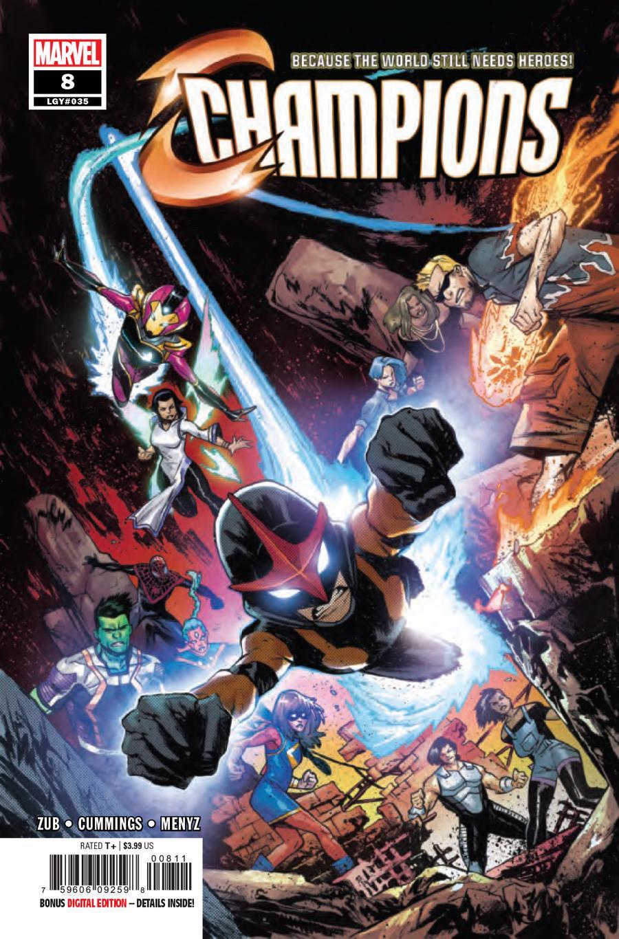 Champions (Marvel) Vol 3 #8