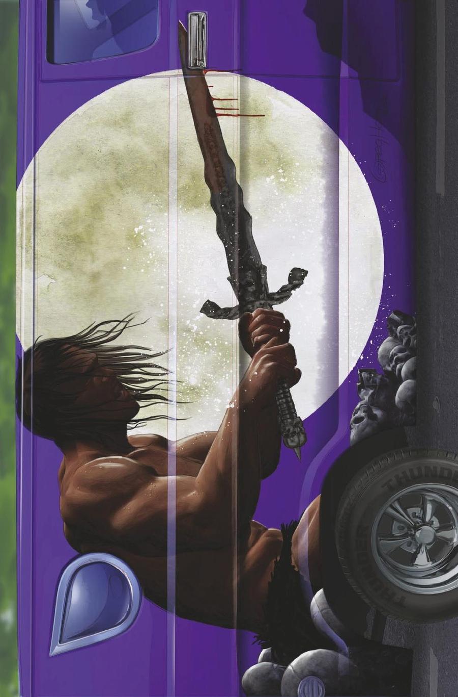 Conan The Barbarian Exodus #1 Cover C Variant Greg Horn Van Cover