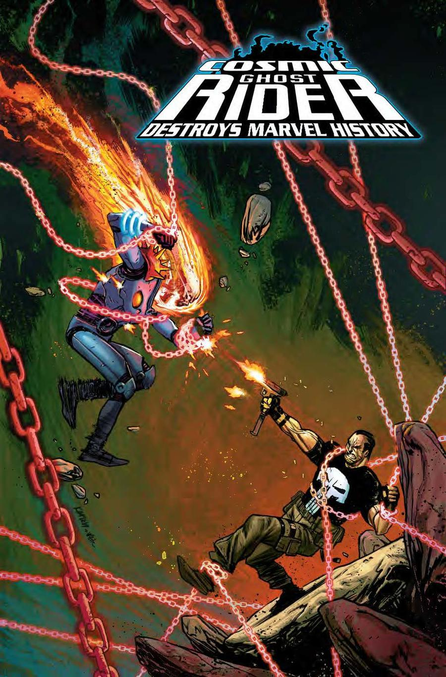 Cosmic Ghost Rider Destroys Marvel History #6 Cover B Variant Kim Jacinto Cover