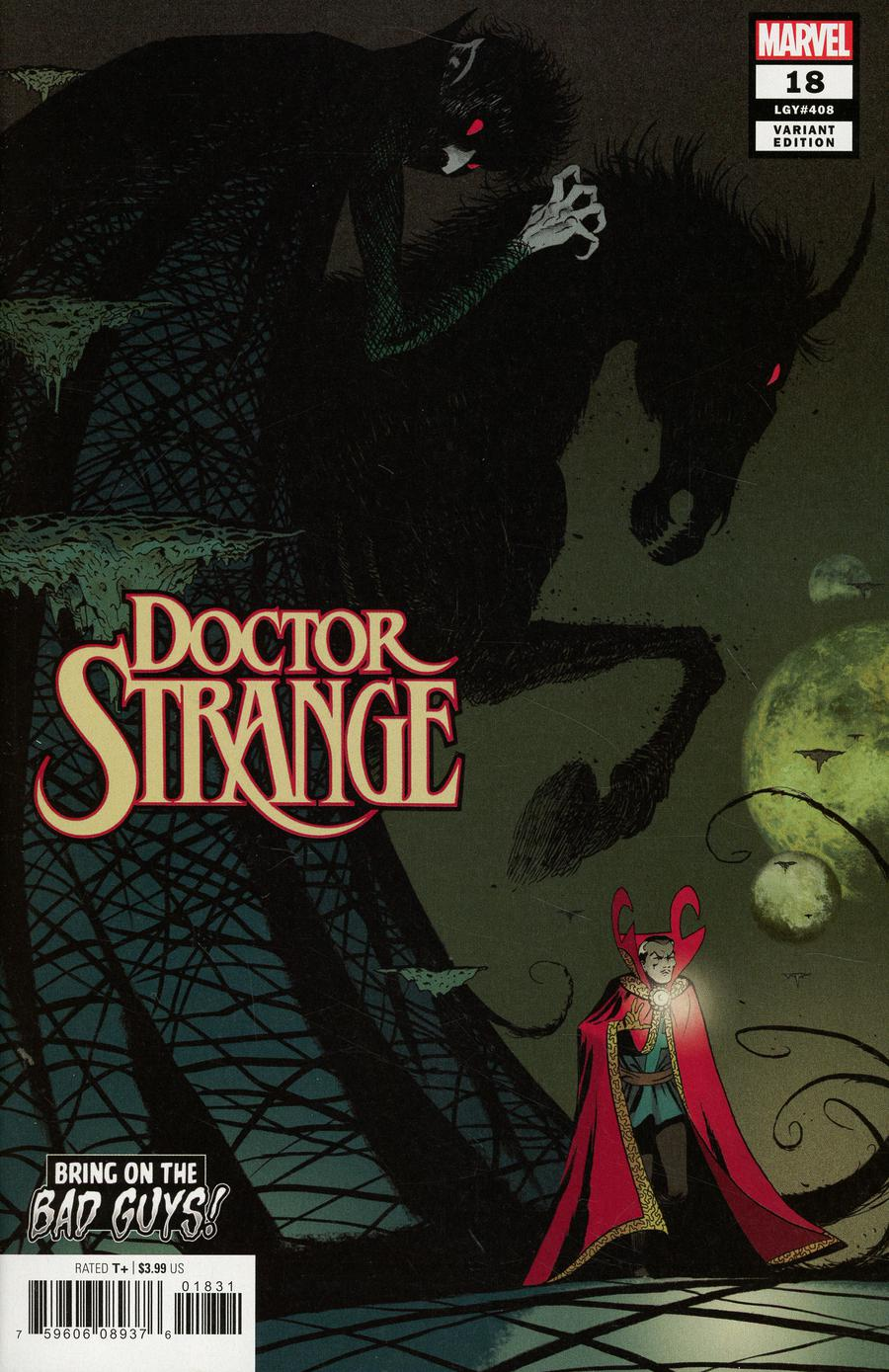 Doctor Strange Vol 5 #18 Cover B Variant Marcos Martin Bring On The Bad Guys Cover