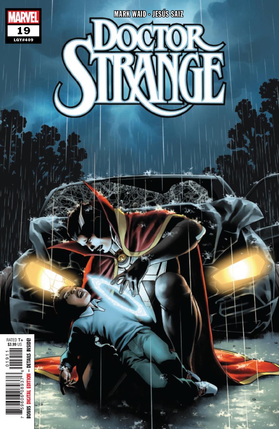 Doctor Strange Vol 5 #19 Cover A Regular Jesus Saiz Cover