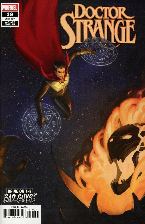 Doctor Strange Vol 5 #19 Cover B Variant Irina Nordsol Bring On The Bad Guys Cover