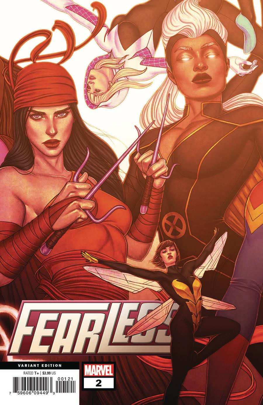 Fearless #2 Cover B Variant Jenny Frison Connecting Cover