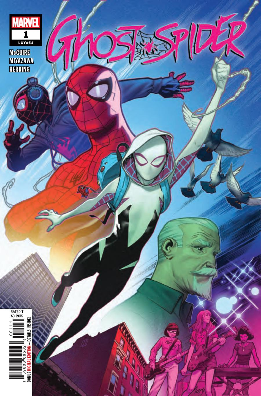 Ghost-Spider #1 Cover A 1st Ptg Regular Jorge Molina Cover