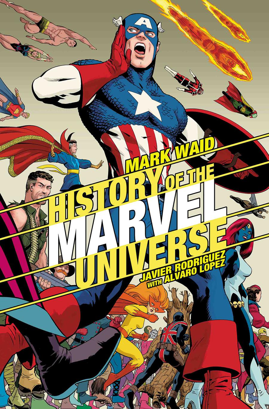 History Of The Marvel Universe #2 Cover B Variant Javier Rodriguez Cover