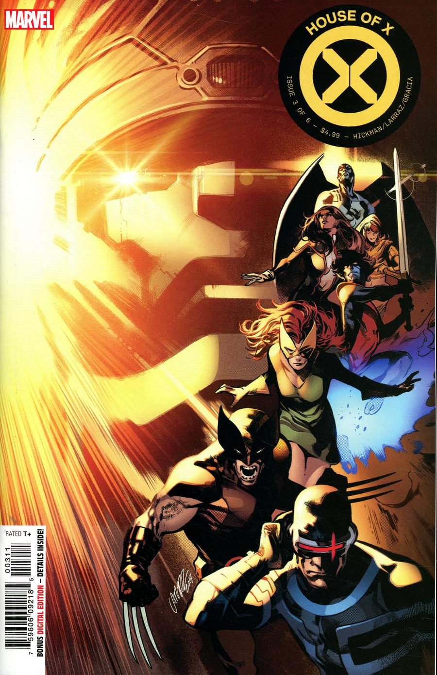 HOUSE OF X #3 STANDARD A COVER MARVEL 2019 STOCK IMAGE