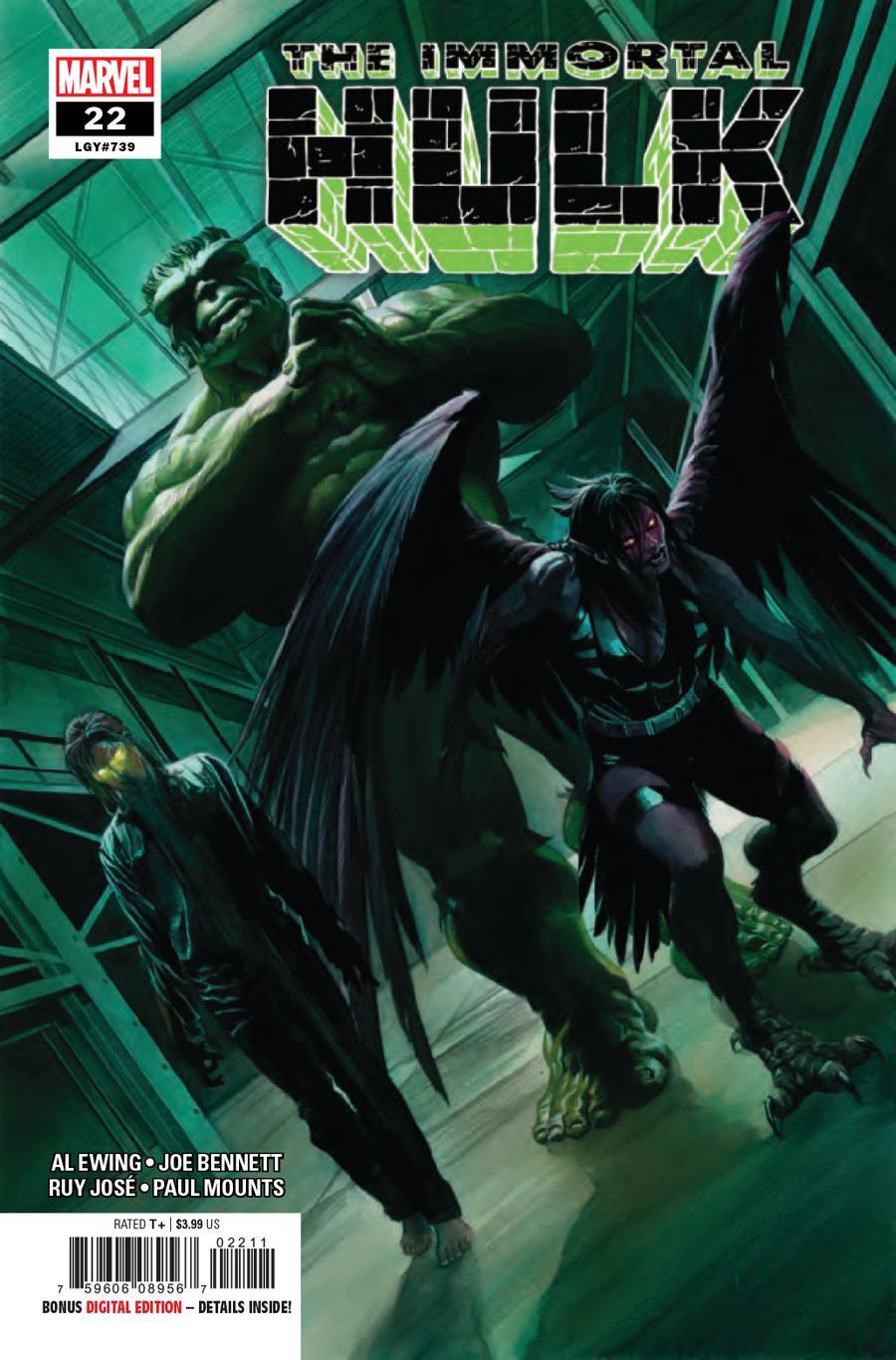 Immortal Hulk #22 Cover A 1st Ptg Regular Alex Ross Cover