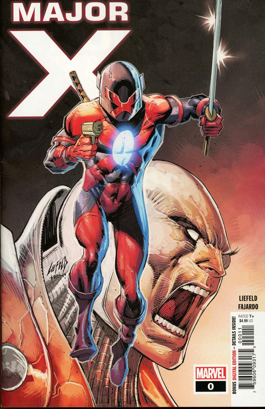 Major X #0 Cover A Regular Rob Liefeld Cover