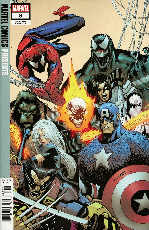 Marvel Comics Presents Vol 3 #8 Cover B Variant Gerardo Sandoval Cover