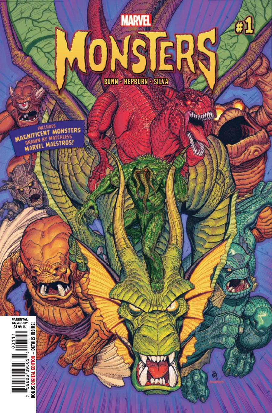 Marvel Monsters #1 Cover A Regular Nick Bradshaw Cover