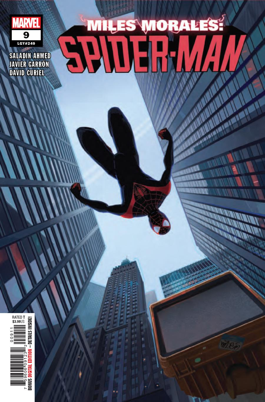 Miles Morales Spider-Man #9 Cover A 1st Ptg Regular Patrick OKeefe Cover