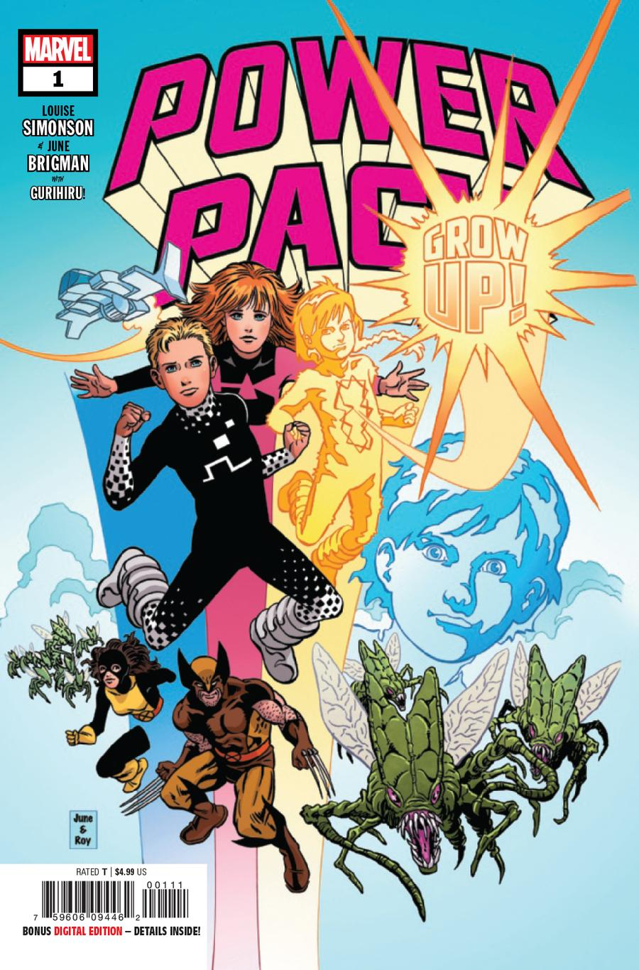 Power Pack Grow Up #1 Cover A Regular June Brigman Cover