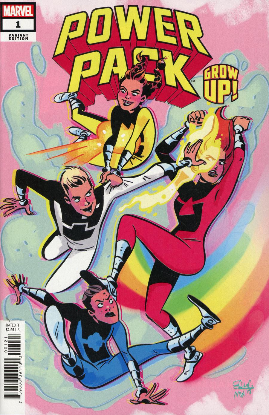 Power Pack Grow Up #1 Cover B Variant Elsa Charretier Cover