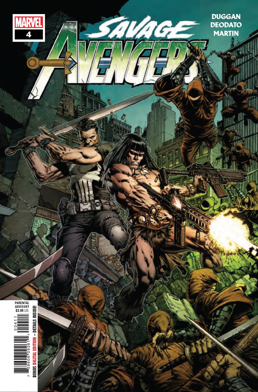 Savage Avengers #4 Cover A 1st Ptg Regular David Finch Cover