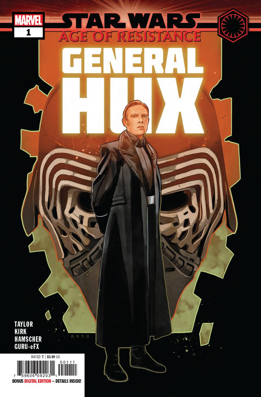 Star Wars Age Of Resistance General Hux #1 Cover A Regular Phil Noto Cover