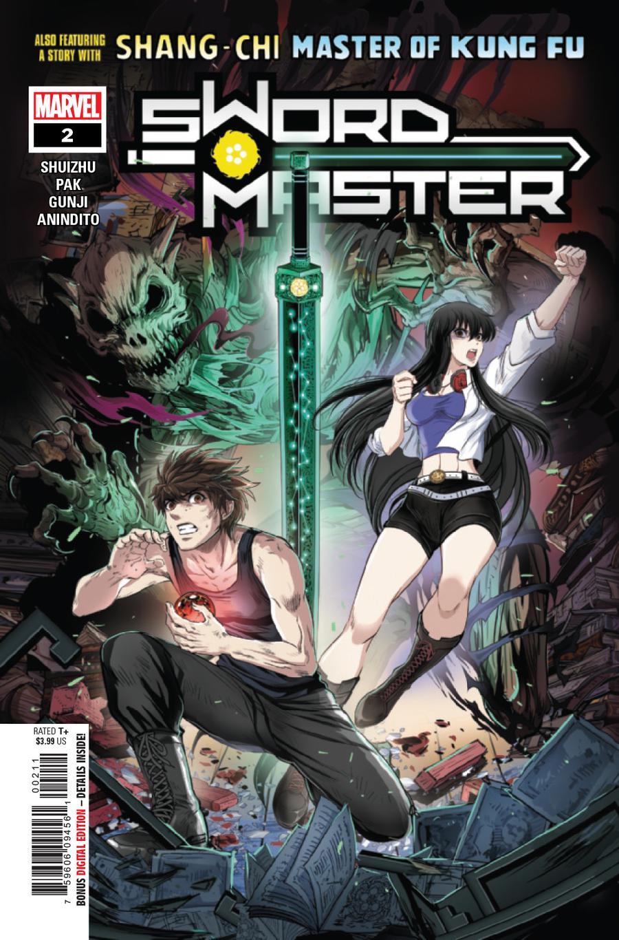 Sword Master #2 Cover A Regular Gunji Cover