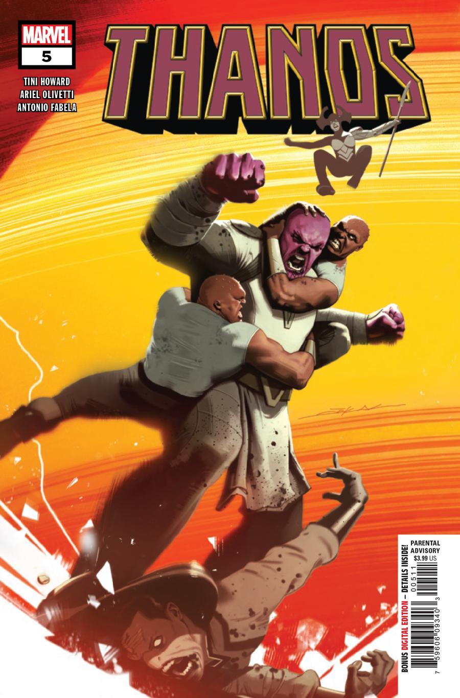 Thanos Vol 3 #5 Cover A Regular Jeff Dekal Cover