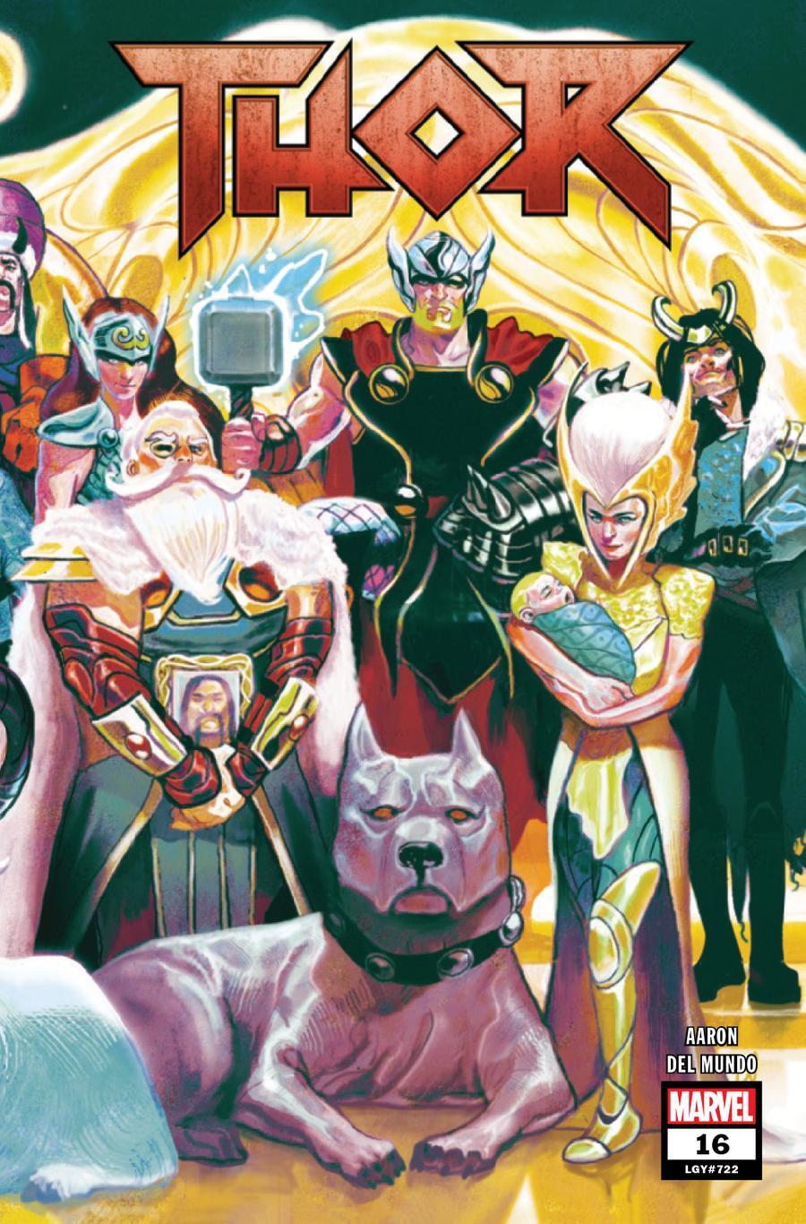 Thor Vol 5 #16 Cover A Regular Mike Del Mundo Wraparound Cover