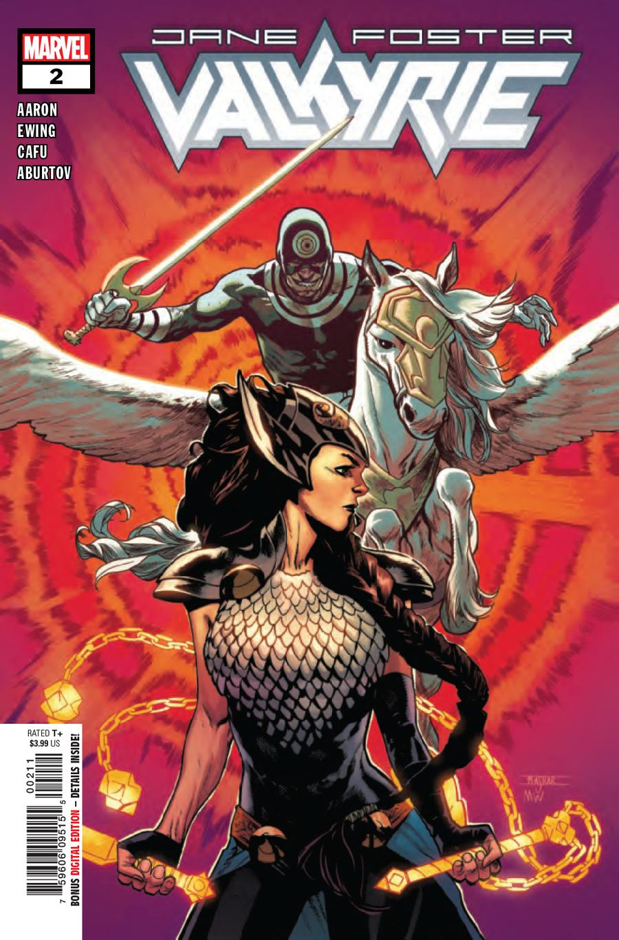 Valkyrie Jane Foster #2 Cover A 1st Ptg Regular Mahmud Asrar Cover