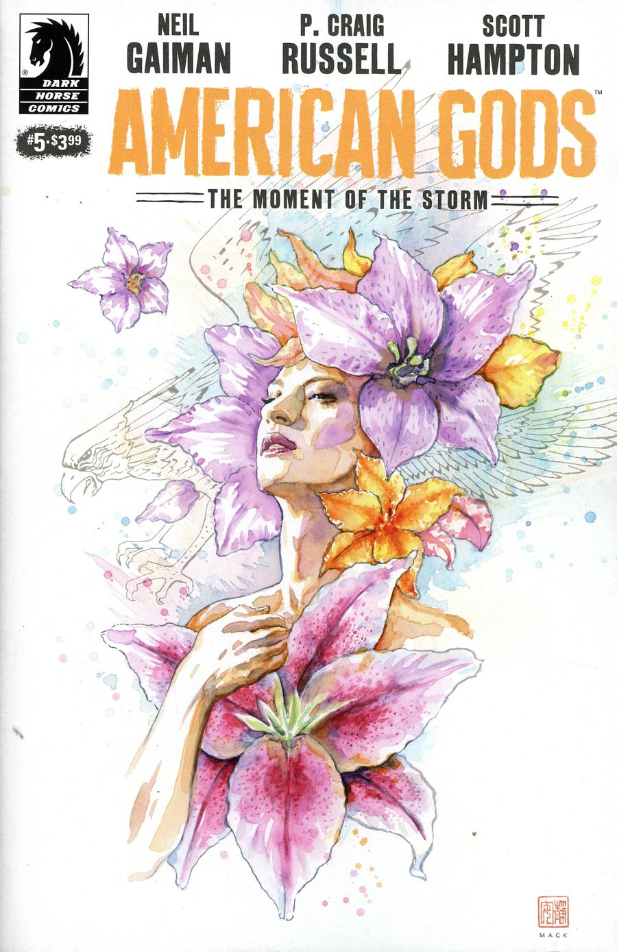 American Gods Moment Of The Storm #5 Cover B Variant David Mack Cover