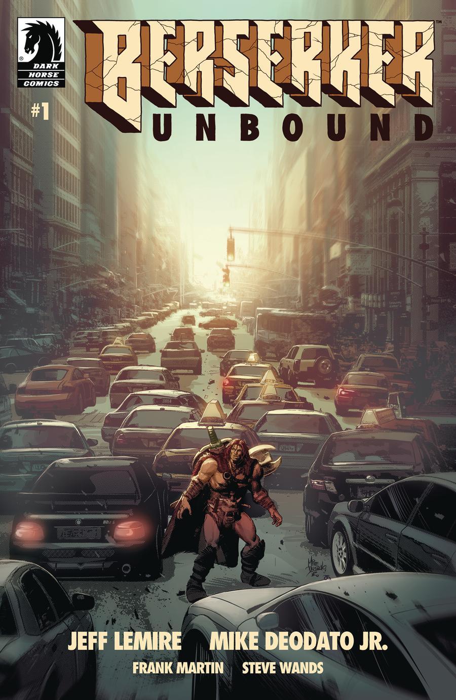 Berserker Unbound #1 Cover A Regular Mike Deodato Jr Cover