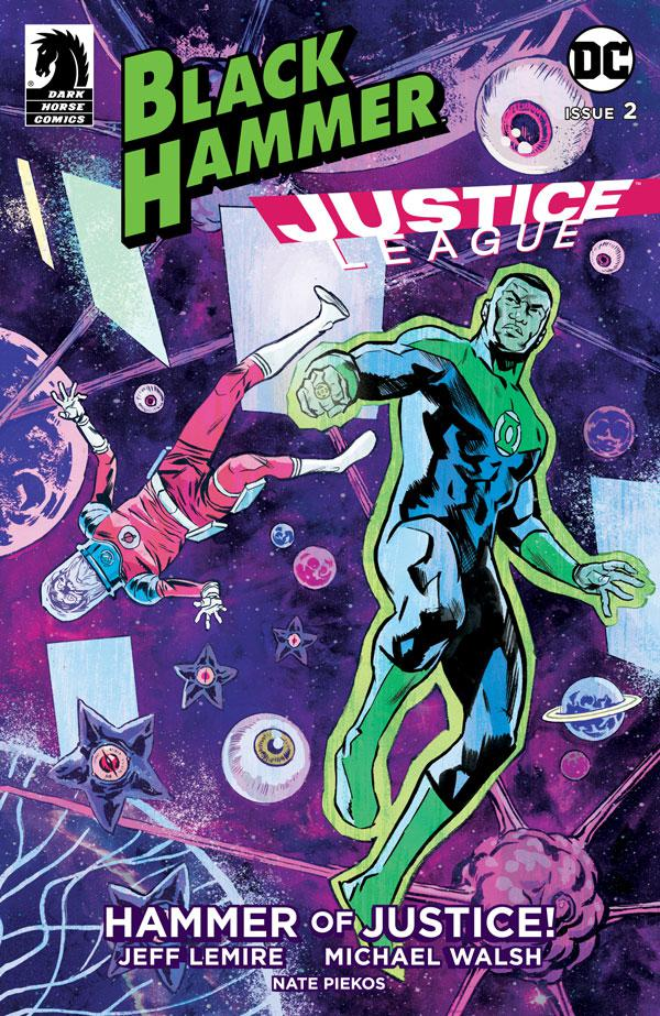 Black Hammer Justice League Hammer Of Justice #2 Cover A Regular Michael Walsh Cover