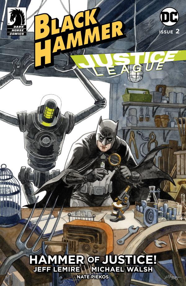 Black Hammer Justice League Hammer Of Justice #2 Cover B Variant Jill Thompson Cover
