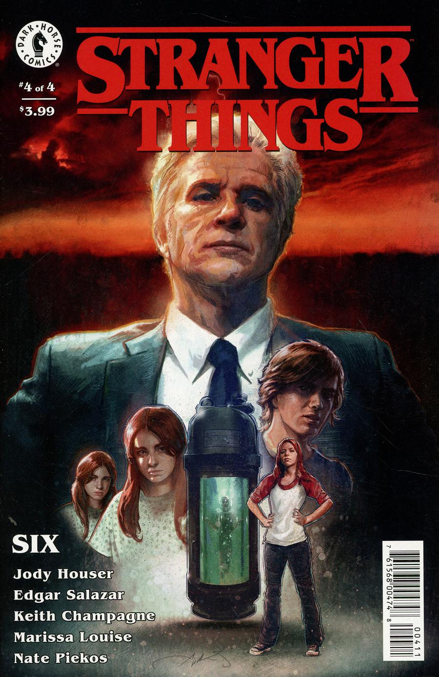 Stranger Things Six #4 Cover A Regular Aleksi Briclot Cover