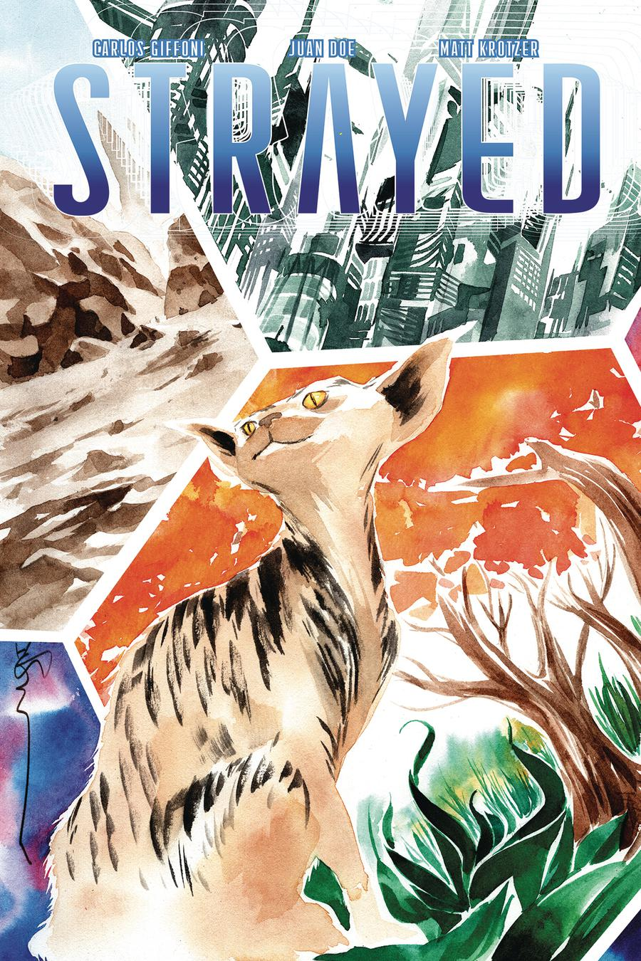 Strayed #1 Cover B Variant Dustin Nguyen Cover