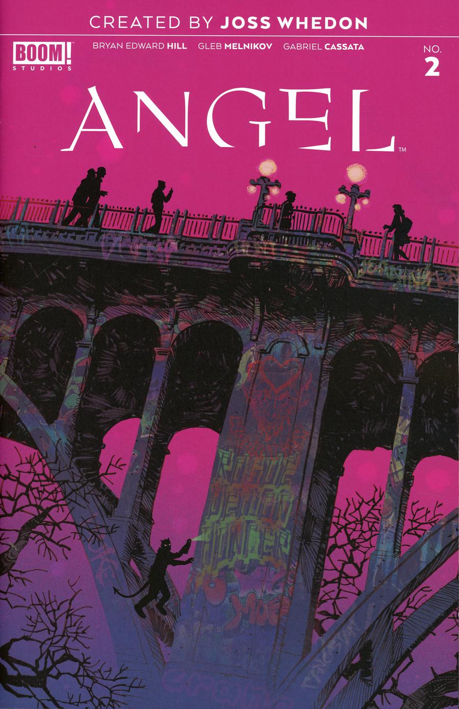 Angel Vol 4 #2 Cover A 1st Ptg Regular Dan Panosian Cover