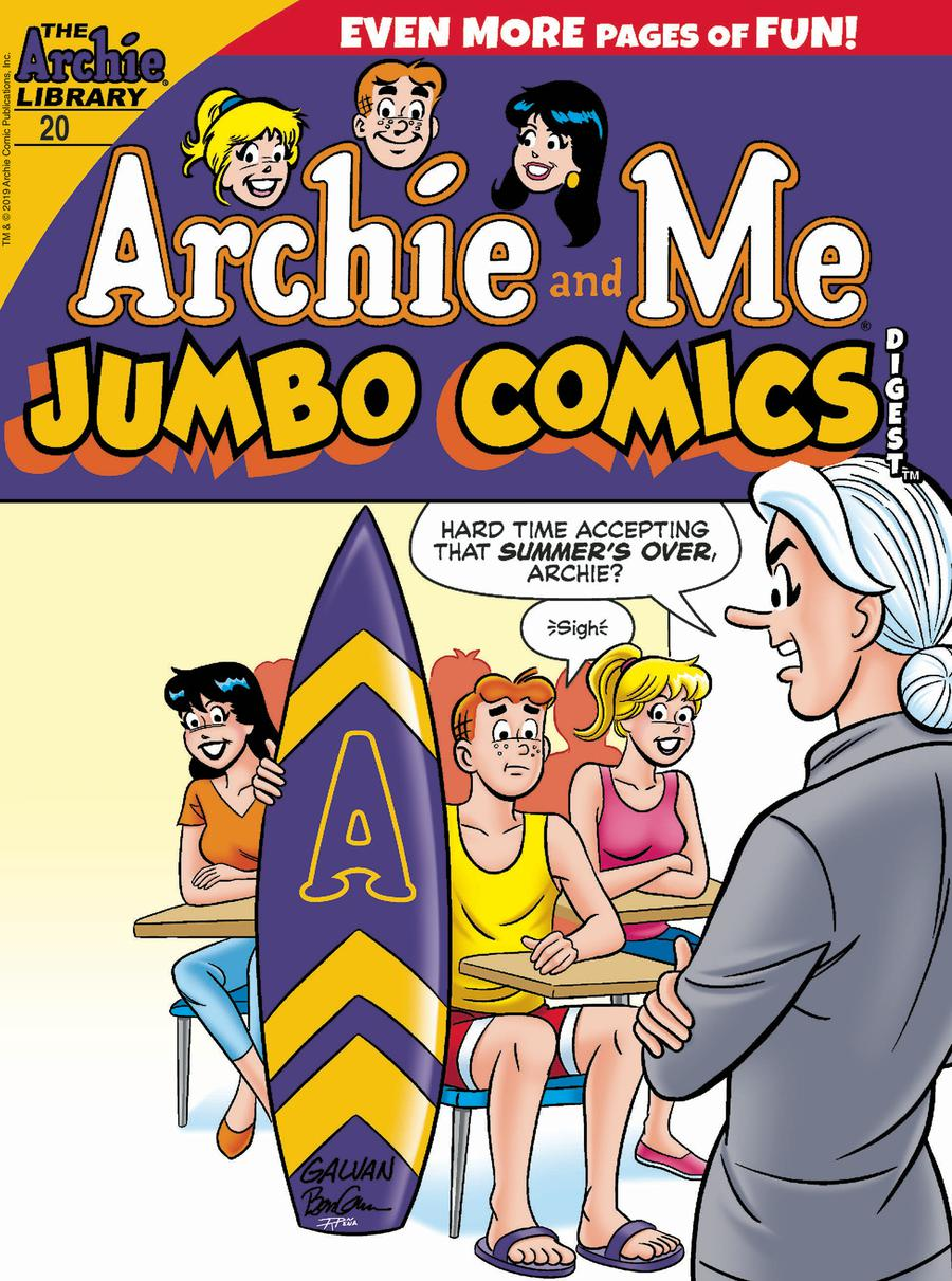 Archie And Me Jumbo Comics Digest #20