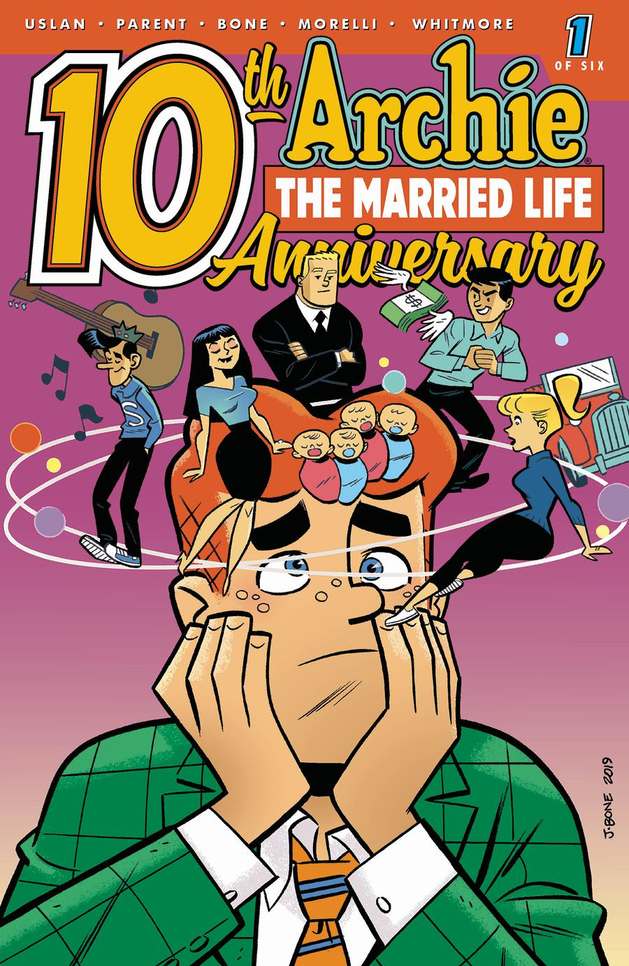 Archie The Married Life 10th Anniversary #1 Cover B Variant J Bone Cover