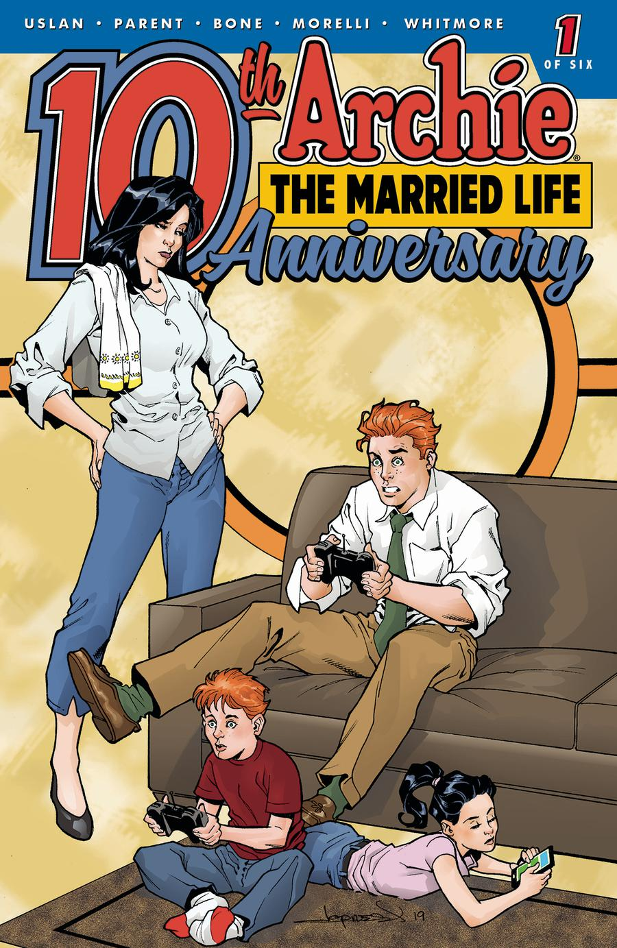 Archie The Married Life 10th Anniversary #1 Cover E Variant Aaron Lopresti Cover