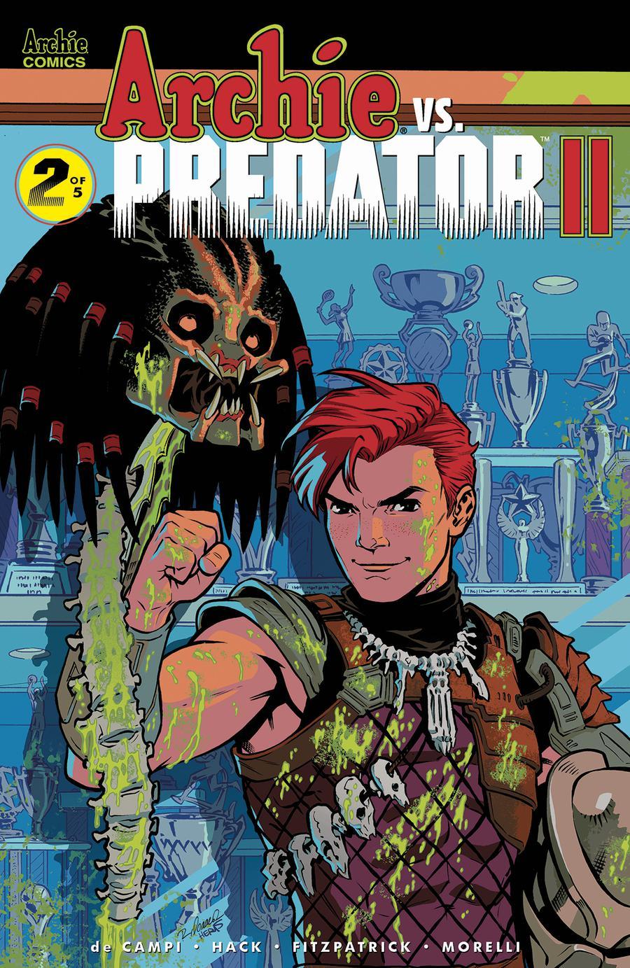 Archie vs Predator II #2 Cover D Variant Rebekah Isaacs & Matt Herms Cover