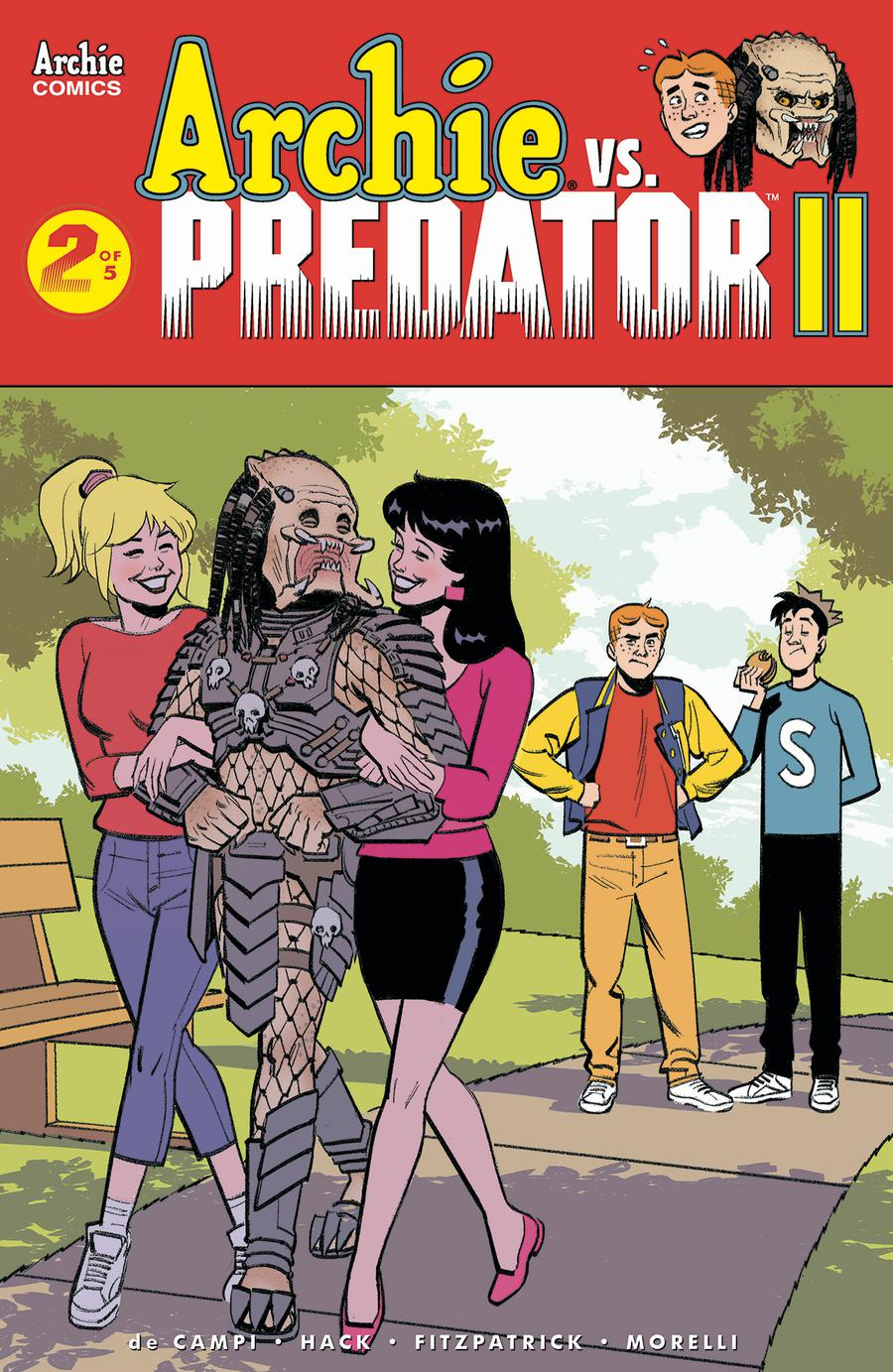 Archie vs Predator II #2 Cover E Variant Greg Smallwood Cover