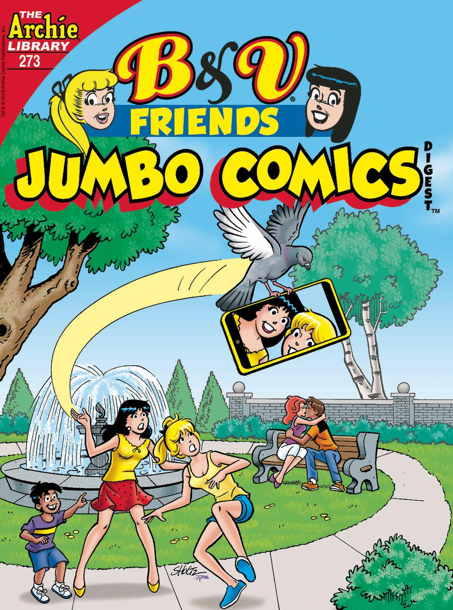 B & V Friends Jumbo Comics Digest #273