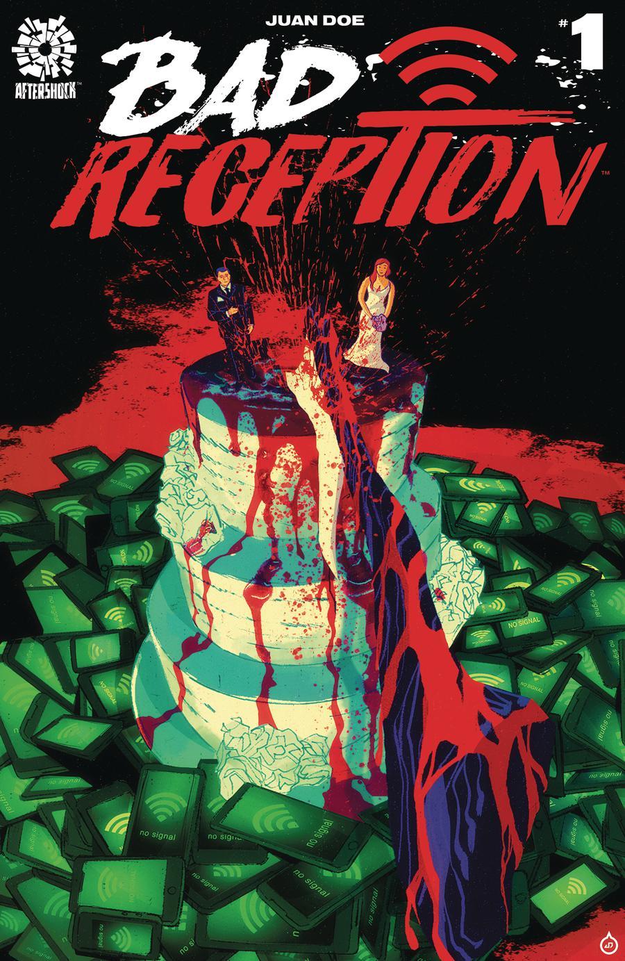 Bad Reception #1 Cover A Regular Juan Doe Cover