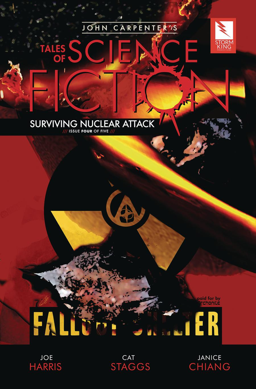 John Carpenters Tales Of Science Fiction Surviving Nuclear Attack #4